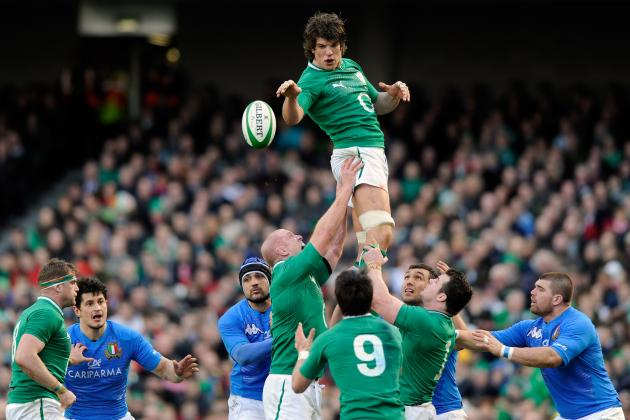 2012 Six Nations: Ireland Team to Face France