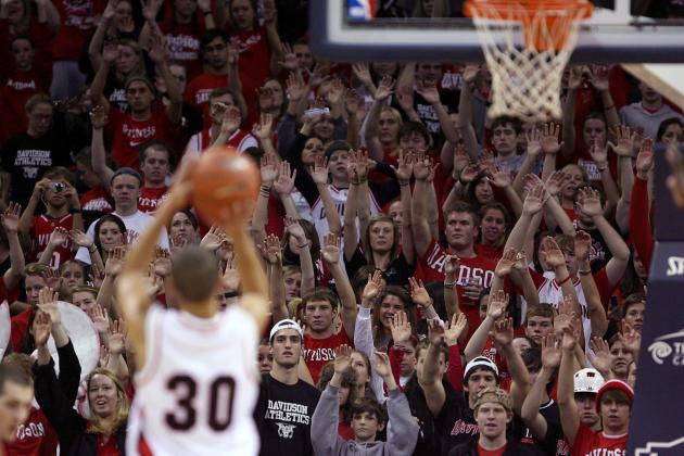 Cinderella Madness Simulated College Basketball Tourney: Davidson vs Geo. Mason