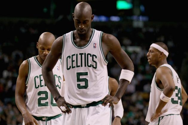 Boston Celtics Facing the End of the Road for the Big Three