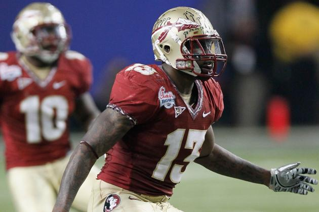 NFL Draft 2012: Florida State Linebacker Nigel Bradham Is a Physical Terror