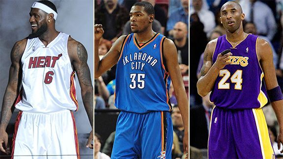 Debate: Who Is More Valuable to His Team: Kobe, LeBron or Durant?