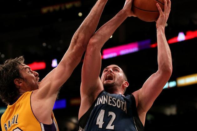 Timberwolves vs. Lakers Tilt a Tale of Then vs. Now