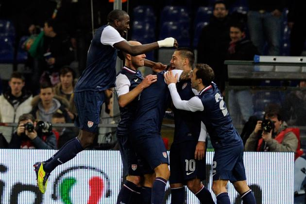 Clint Dempsey Strike Gives USA First Ever Win over Italy