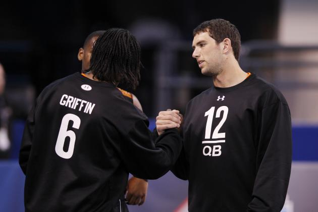 2012 NFL Draft: Jerry Jones Refuses to Pick Andrew Luck or Robert Griffin III