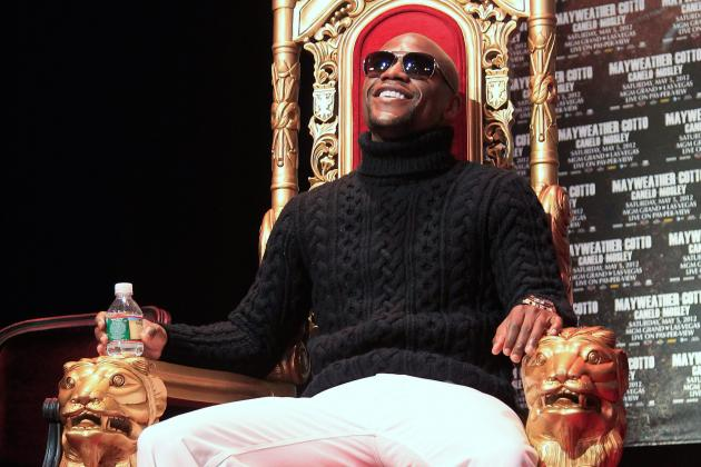 Floyd Mayweather Jr. Attacks Manny Pacquiao's Intelligence