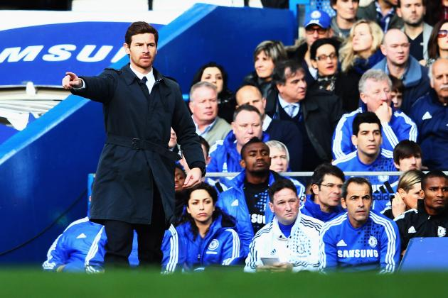 Andre Villas-Boas Finally Realises His Time May Be Up at Chelsea