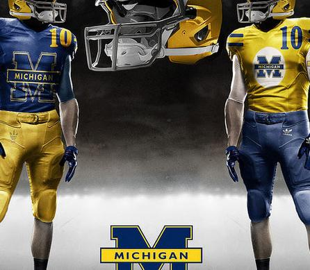 Michigan Football Uniforms: Why Fake Design Could Be the Wave of the Future