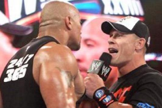 WWE: John Cena and The Rock 'Working' out Their Differences