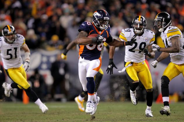 Denver Broncos: Could Demaryius Thomas Develop into a Star Receiver in 2012?