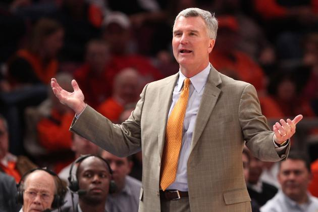 Illinois Basketball: Bruce Weber's Fighting Illini Show No Fight