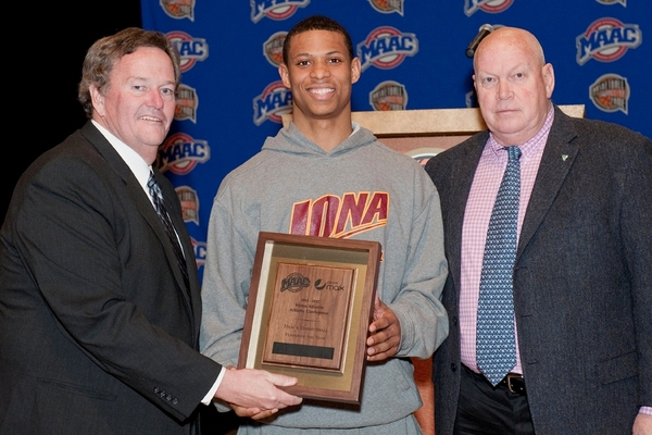 Iona Gaels Basketball:  Scott Machado Named MAAC Player of the Year