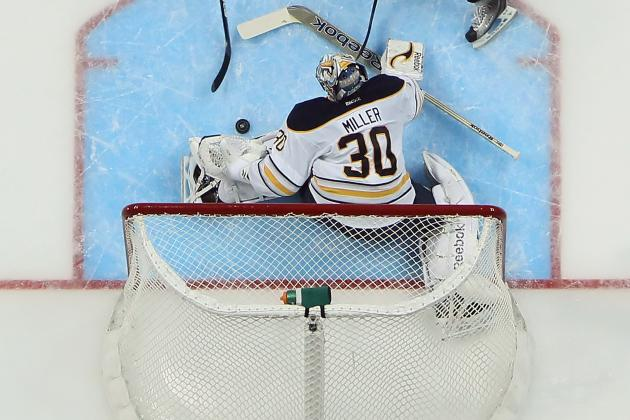 San Jose Sharks Victims of Ryan Miller Theft in Loss to Buffalo Sabres
