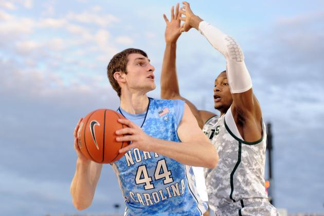UNC Basketball: Tar Heels' Tyler Zeller States Case for ACC Player of the Year