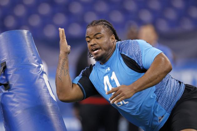 NFL Combine 2012: Dontari Poe and Huge Workout Winners