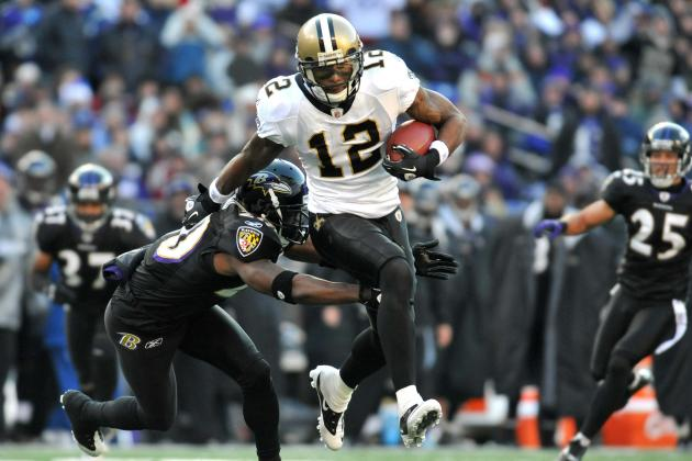 San Francisco 49ers: Why Marques Colston Is Better Fit Than Mike Wallace