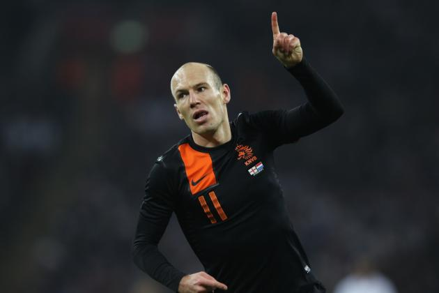 Arjen Robben: The Key to Dutch Victory at Euro 2012