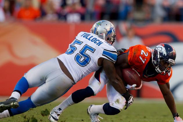 2012 NFL Free Agents: No Stephen Tulloch Deal in Detroit, Eagles May Sign Him