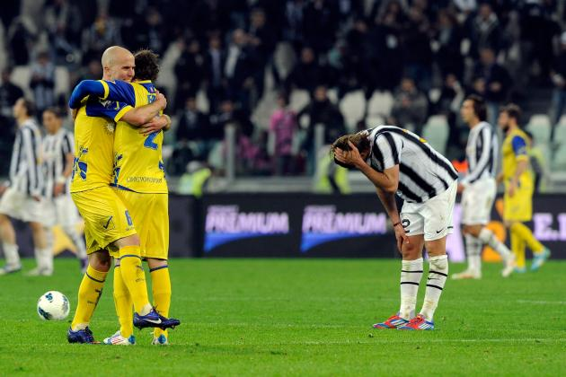 Juventus and Chievo Draw 1-1 in Mistake Filled Match, Mirko Vucinic Flounders