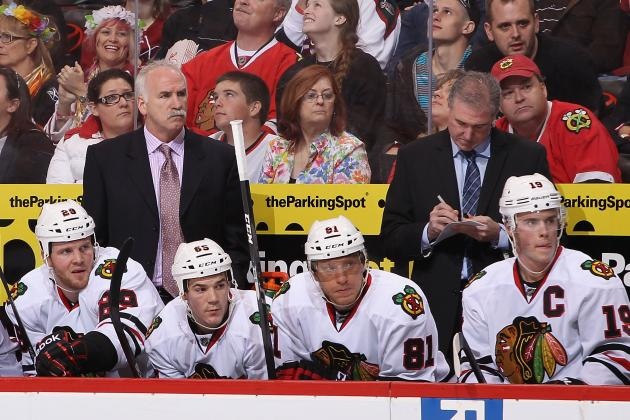 Chicago Blackhawks: Why Does Joel Quenneville Need Coaching Help from Upstairs?