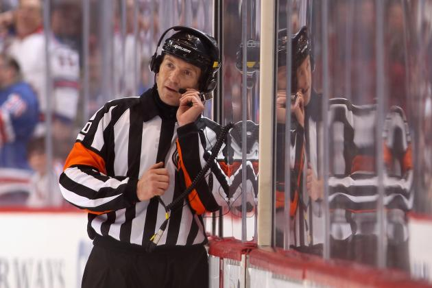 NHL Referee Tim Peel Should Be Immediately Fired After Brutal Blown Calls