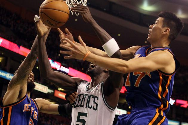 Boston Celtics Led by Rondo and Pierce Outlast Lin, New York Knicks in Overtime