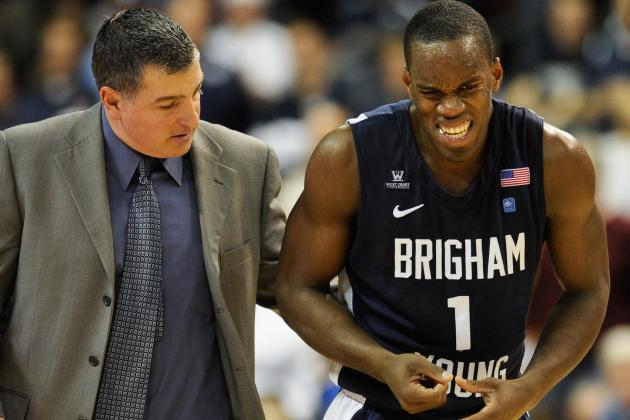 BYU Basketball: Inconsistency and Injuries Leave NCAA Bid in Peril