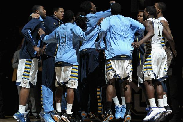 Marquette Golden Eagles Shine on Senior Day, Look More Than Ready for March