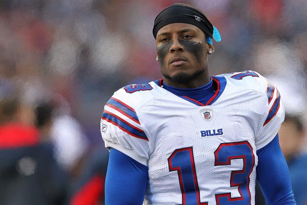 2012 NFL Free Agency: Buffalo Bills Sign Steve Johnson to Five-Year Contract