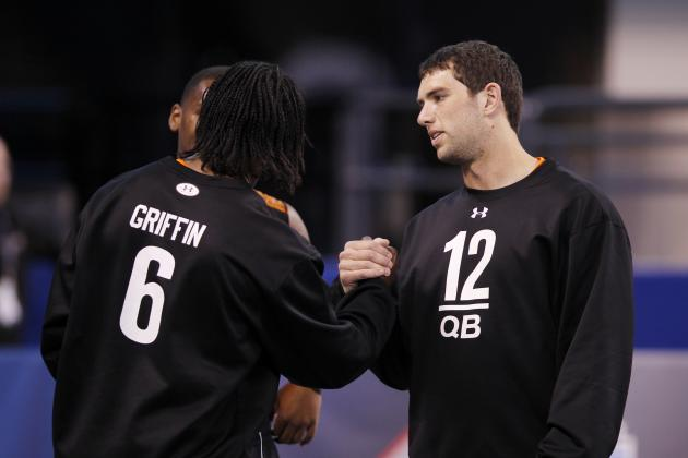 2012 NFL Draft: Andrew Luck vs. Robert Griffin III
