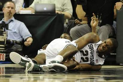 Michigan State Basketball 2012: Branden Dawson out for Remainder of the Season