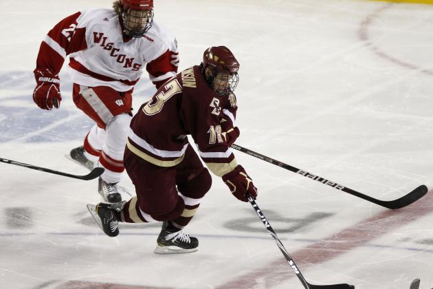 College Hockey Power Rankings: BC on Top Heading into Postseason