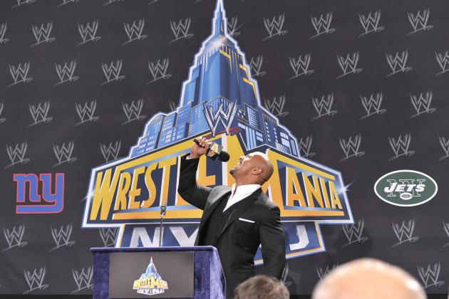 WWE News: The Rock Is Going to Rip John Cena's Throat out at WrestleMania 28