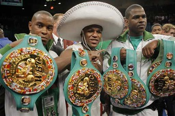 Floyd Mayweather: 'Money' Thanks Mexican, Puerto Rican, Latin and UK Boxing Fans