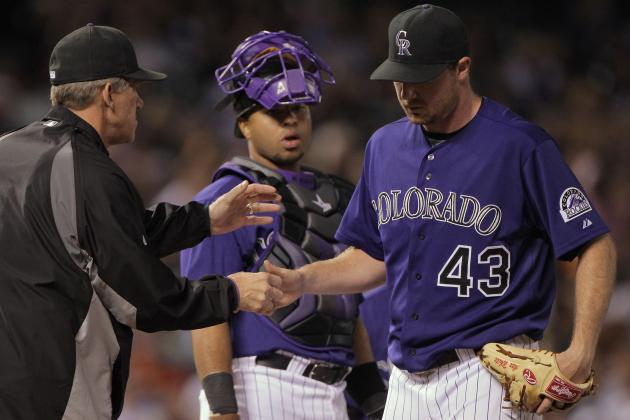 Alex White: Extreme DUI Charge Will Stunt Rockies Pitcher's Promising Career