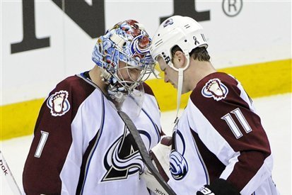 Colorado Avalanche:  Sweet 15