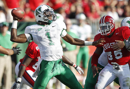 Marshall QB A.J. Graham Dismissed for Undisclosed Violation of Team Rules