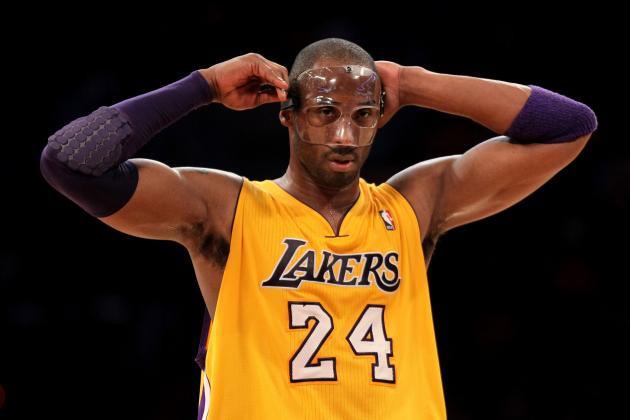 Lakers Rumors: Kobe to Channel His Inner  Dark Knight and Wear Black Mask