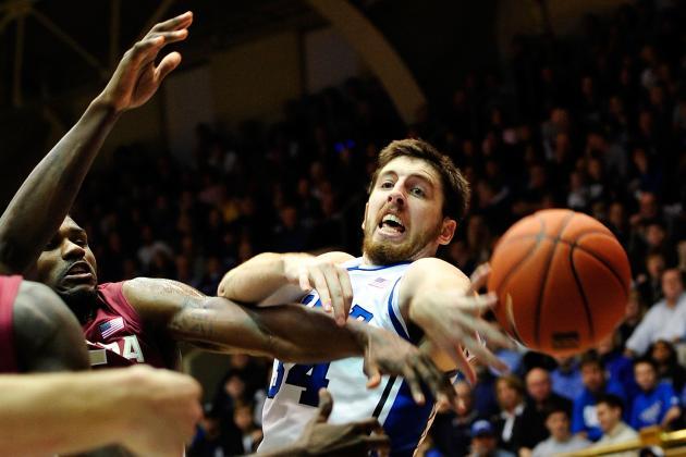 ACC Tournament 2012: Ryan Kelly's Injury Hampers Duke's Title Chances