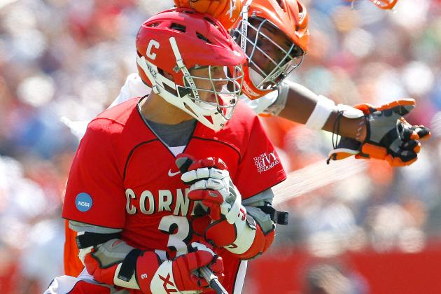 Cornell Attackman Rob Pannell Breaks Foot, Will Miss 6 Weeks