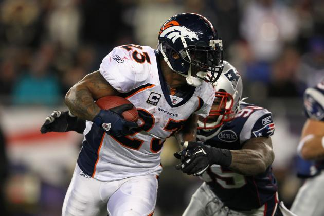 NFL Free Agency: Best RB Options for Denver Broncos Likely to Come from AFC West
