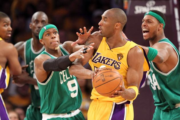 NBA Fines Bryant, Pierce, Rondo for Skipping out on All-Star Festivities