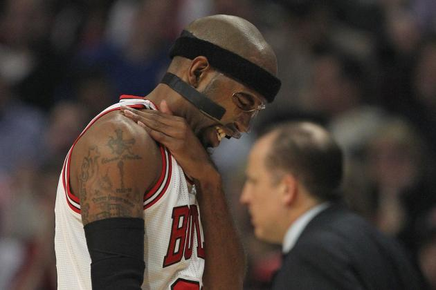 Richard Hamilton Injury: Chicago Bulls Guard Sidelined Again