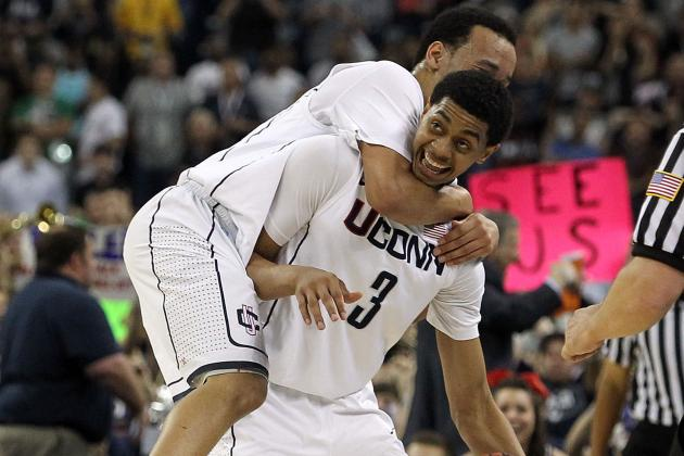 Big East Tournament 2012: Napier, Lamb Lead UConn to OT Win over West Virginia