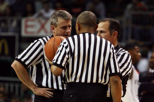 March Madness:  Whistling 98 for the Dancing 68—Referee Selection