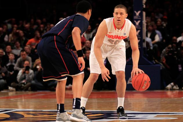 Big East Tournament 2012 Bracket: Connecticut Will Pull off Upset vs. Syracuse
