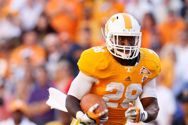 2012 NFL Draft: University of Tennessee Running Back Tauren Poole Will Surprise