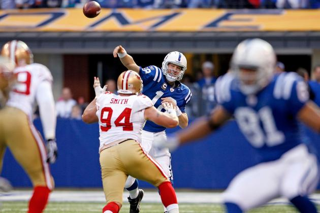 San Francisco 49ers Will Not Pursue Peyton Manning; Alex Smith Remains