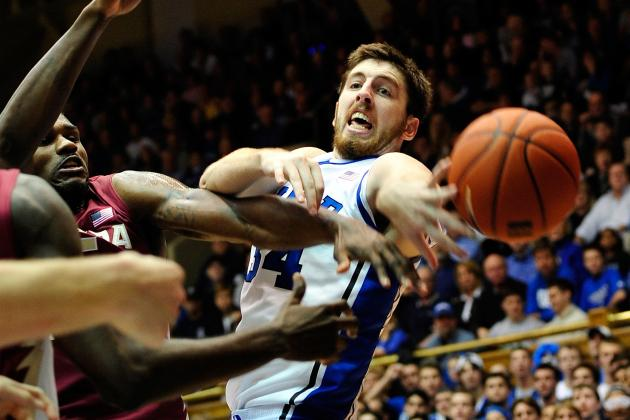 ACC Tournament 2012: Can Duke Win a Fourth Straight Title Without Ryan Kelly?