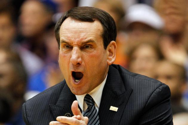 Why Duke and Coach K Won't Go Far in Postseason Tournaments