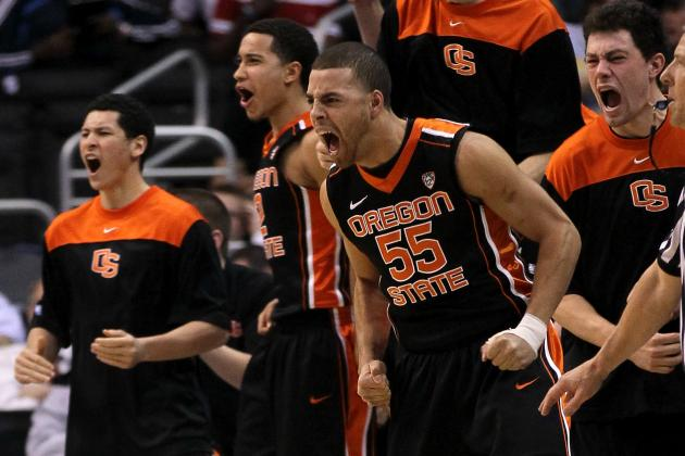 Oregon State Stuns Washington 86-84 in Pac-12